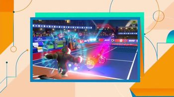 Mario Tennis Aces TV Spot, 'Nickelodeon: Now and Wow' - Thumbnail 5