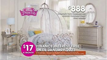 Rooms to Go Kids and Teens TV Spot, 'Hot Buys: Princess Bedroom' - Thumbnail 6