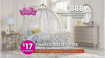 Rooms to Go Kids and Teens TV Spot, 'Hot Buys: Princess Bedroom' - Thumbnail 7