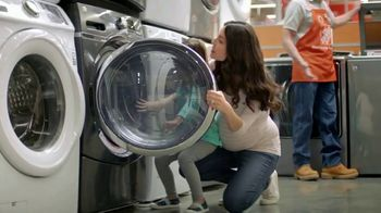 The Home Depot Red, White & Blue Savings TV Spot, 'Laundry Pair'