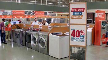 The Home Depot Red, White & Blue Savings TV Spot, 'Laundry Pair' - Thumbnail 5