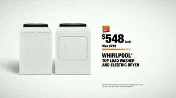 The Home Depot Red, White & Blue Savings TV Spot, 'Laundry Pair' - Thumbnail 8