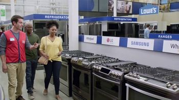 Lowe's Father's Day Savings TV Spot, 'Oven: Kitchen Suite' - Thumbnail 5