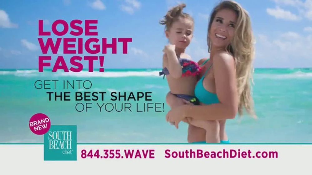 South Beach Diet TV Commercial, 'Lose Weight Fast' Featuring Jessie James Decker