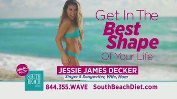 South Beach Diet TV Spot, 'Lose Weight Fast' Featuring Jessie James Decker - Thumbnail 2