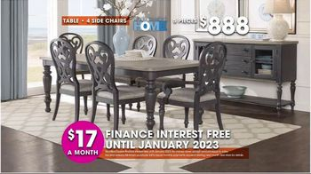 Rooms to Go TV Spot, 'Hot Buys: Dining Sets' - Thumbnail 5