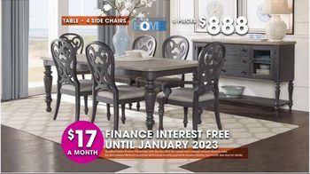 Rooms to Go TV Spot, 'Hot Buys: Dining Sets' - Thumbnail 6