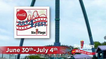 Six Flags Magic Mountain July 4th Fest TV Spot, 'FOX 11: Free Tickets' - Thumbnail 1