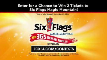 Six Flags Magic Mountain July 4th Fest TV Spot, 'FOX 11: Free Tickets' - Thumbnail 10