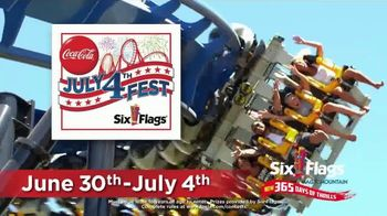 Six Flags Magic Mountain July 4th Fest TV Spot, 'FOX 11: Free Tickets' - Thumbnail 2