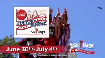 Six Flags Magic Mountain July 4th Fest TV Spot, 'FOX 11: Free Tickets' - Thumbnail 3