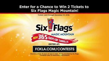 Six Flags Magic Mountain July 4th Fest TV Spot, 'FOX 11: Free Tickets' - Thumbnail 8