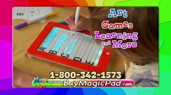 MagicPad TV Spot, 'Glowing Art Kit' - Thumbnail 8