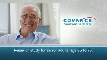 Covance Clinical Trials TV Spot, 'Senior Research Study' - Thumbnail 2