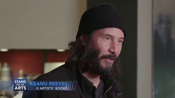 Stand for the Arts TV Spot, 'X Artists' Books' Featuring Keanu Reeves - Thumbnail 1