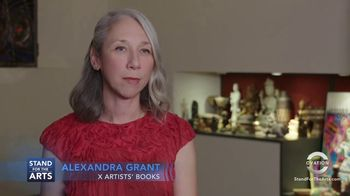 Stand for the Arts TV Spot, 'X Artists' Books' Featuring Keanu Reeves - Thumbnail 5
