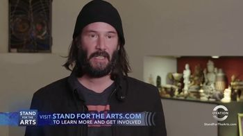 Stand for the Arts TV Spot, 'X Artists' Books' Featuring Keanu Reeves - Thumbnail 8