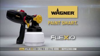 Wagner Paint FLEXiO Sprayer TV Spot, \'More Beautiful Than Ever\'