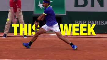 Tennis Channel Plus TV Spot, 'This Week: Roland Garros'