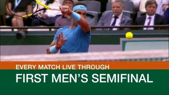 Tennis Channel Plus TV Spot, 'This Week: Roland Garros'