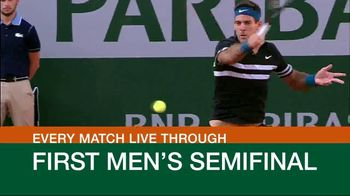 Tennis Channel Plus TV Spot, 'This Week: Roland Garros' - Thumbnail 4