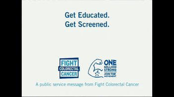 Fight Colorectal Cancer TV Spot, 'Let's Fight' Featuring Tony Beasley - Thumbnail 8