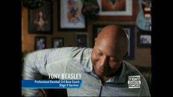 Fight Colorectal Cancer TV Spot, 'Let's Fight' Featuring Tony Beasley - Thumbnail 7