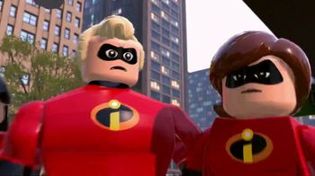 LEGO Pixar The Incredibles TV Spot, 'It's Time' - 844 commercial airings