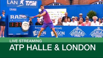 Tennis Channel Plus TV Spot, 'This Week: Halle and London'
