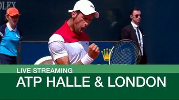 Tennis Channel Plus TV Spot, 'This Week: Halle and London' - Thumbnail 9