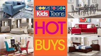 Rooms to Go Kids and Teens TV Spot, 'Hot Buys' - Thumbnail 2