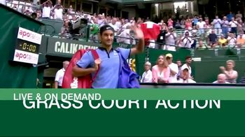 Tennis Channel Plus TV Spot, 'Next Week: Halle and London'