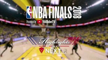 NextVR App TV Spot, '2018 NBA Finals: Highlights' - Thumbnail 2