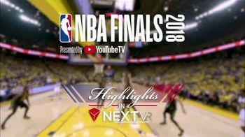 NextVR App TV Spot, '2018 NBA Finals: Highlights'
