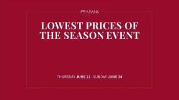 JoS. A. Bank Lowest Prices of the Season Event TV Spot, 'Save Storewide' - Thumbnail 1