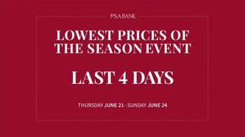 JoS. A. Bank Lowest Prices of the Season Event TV Spot, 'Save Storewide' - Thumbnail 2