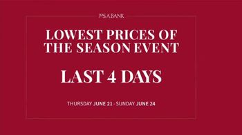 JoS. A. Bank Lowest Prices of the Season Event TV Spot, 'Save Storewide'