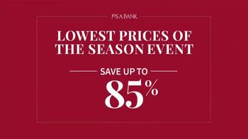 JoS. A. Bank Lowest Prices of the Season Event TV Spot, 'Save Storewide' - Thumbnail 4