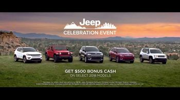 Jeep Celebration Event TV Spot, 'Most Awarded SUV Lineup' Song by The Score [T2] - Thumbnail 7