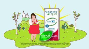 SlimQuick Pure TV Spot, 'Three Times the Weight: 25 Percent' - Thumbnail 4