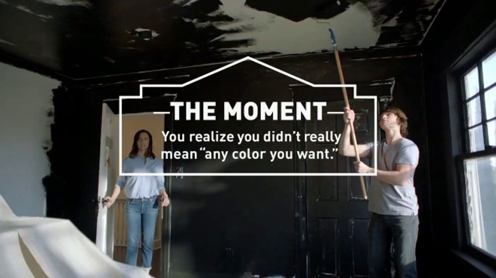 Lowe's TV Commercial, 'The Moment: Any Color: Olympic Paints'