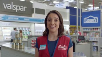 Lowe's TV Spot, 'The Moment: Any Color: Olympic Paints' - Thumbnail 5