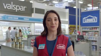 Lowe's TV Spot, 'The Moment: Any Color: Olympic Paints' - Thumbnail 6