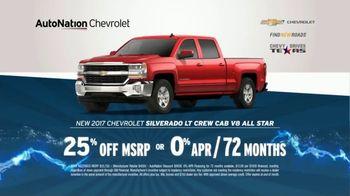 AutoNation 72 Hour Flash Sale TV Spot, '2017 Silverado: Tire Rebate' - Thumbnail 6