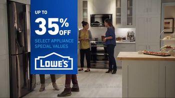 Lowe's TV Spot, 'Not Enough Fridge: Appliance Special Values' - Thumbnail 10