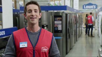 Lowe's TV Spot, 'Not Enough Fridge: Appliance Special Values' - Thumbnail 6