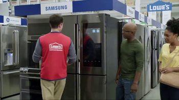 Lowe's TV Spot, 'Not Enough Fridge: Appliance Special Values' - Thumbnail 7