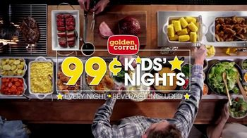 Golden Corral 99-Cent Kids' Nights TV Spot, 'Every Night' - Thumbnail 10