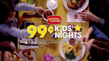 Golden Corral 99-Cent Kids' Nights TV Spot, 'Every Night' - Thumbnail 8