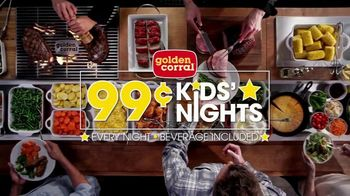 Golden Corral 99-Cent Kids' Nights TV Spot, 'Every Night' - Thumbnail 9